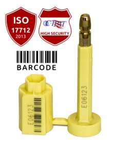 Guard Lock container seal with bar code